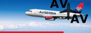 Скидки от AirSerbia на авиабилеты в Европу